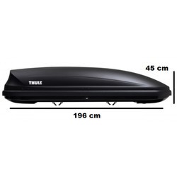 Thule Pacific 780 -  (L)  Anthracite - 420 Liter