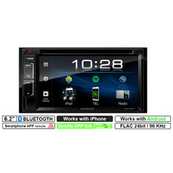 Kenwood DDX318BT - Autoradio -  6.2'' Scherm - 2DIN Multimedia systeem - Bluetooth