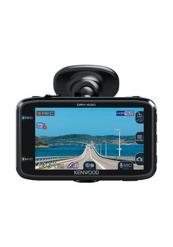 Kenwood DRV-830 - Dashcam - 2019 Model - GPS