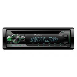 Pioneer DEH-S410DAB - 1 Din Autoradio - USB, DAB+ -  Iphone & Android streaming