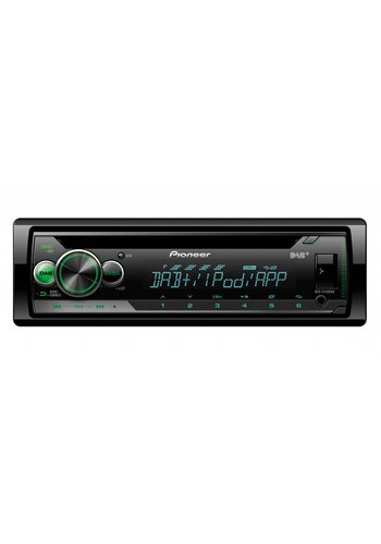 Pioneer DEH-S410DAB - 1 Din Autoradio - USB, DAB+ -  Iphone & Android streaming