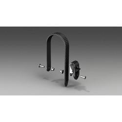Uebler Ratel compleet + tandriem 360mm - E1876