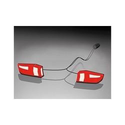 Uebler achterlichtset incl. kabel stekker en kunstof schroef