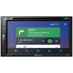 Pioneer AVH-Z5200DAB  / Apple CarPlay en Android Auto