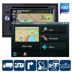 Blaupunkt IGO PRIMO  Camper/Truck navigatie software voor 370/530/570-serie