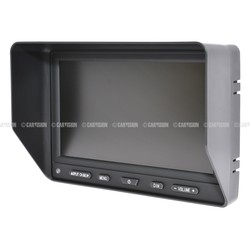 AE-700Q 7 inch heavy duty QUAD color monitor incl. speedswitch 200101