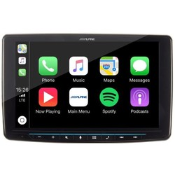 "Alpine INE-F904D - Multimedia systeem - Ingebouwde navigatie - 9""touchscreen - Apple Car Play - Android Auto - Bluetooth"