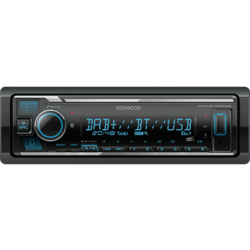 Kenwood KMM-BT506DAB - Autoradio - Bluetooth - DAB+
