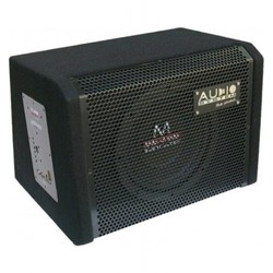 "Audio System M 08 ACTIVE - Subwoofer in kist - 8"" - 150 Watt RMS"