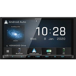Kenwood DMX7520DABS  - DAB+ - Apple Car Play & Android Auto - Bluetooth