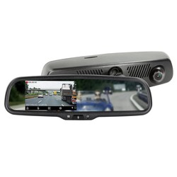 "Spiegel monitor - 4.3"" incl. Full HD dashcam + DVR-functie"