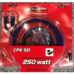 Caliber CPK5D - Kabelset 5mm – 250/500Watt