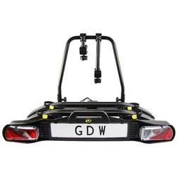 GDW - Bike Carrier  model X - Geschikt voor 2 E-Bikes - Kantelbaar