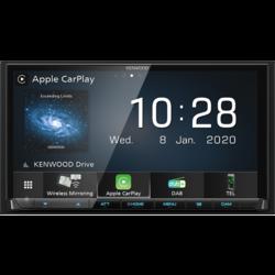 Kenwood DMX8020DABS - Draadloos Apple Carplay - Android Auto - WiFi - Bluetooth