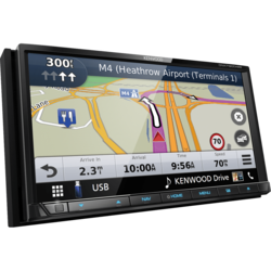 """Kenwood DNX7190DAB - Navigatie - 2 DIN -  7"""" Touchscreen - Apple Carplay & Android Auto"""