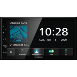 Kenwood DMX5020DABS - Autoradio - Dubbel din - Apple Car Play & Android Auto - DAB+
