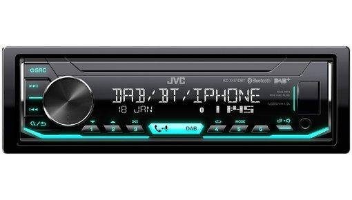 JVC autoradio usb