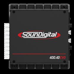 Sounddigital SD400.4D EVO 2 - 4-kanaals versterker