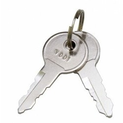 Pro User /  Bosal  sleutels -   2 stuks - Originele sleutels op nummer
