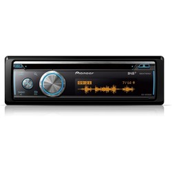 Pioneer DEH-X8700DABAN - Autoradio - DAB -  CD -  Aux -  Bluetooth - USB - Enkel Din
