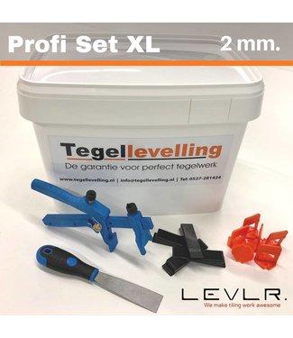 TegelFix Profi Set XL 2 mm.. 500 clips