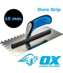 Ox Tools Lijmkam 15 mm.  Ox  RVS Dura Grip