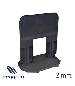 Peygran Levelling clips 2 mm. 300 stuks Peygran