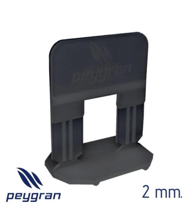 Peygran Tegel Levelling Clips 2 mm. 300 stuks Peygran