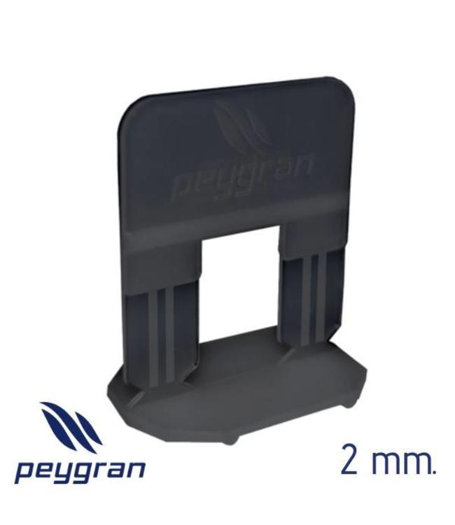 Peygran Tegel Levelling Clips 2 mm. 500 stuks Peygran