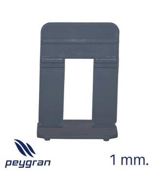 Peygran Clips 1 mm. Stone 80 st. 16-30 mm. Peygran