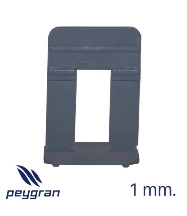 Peygran Clips 1 mm. Stone300 stuks. 16-30 mm Peygran - Copy