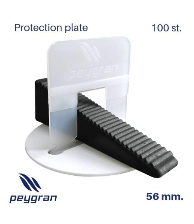 Peygran Bescherming plaatjes 100 st. Paygran