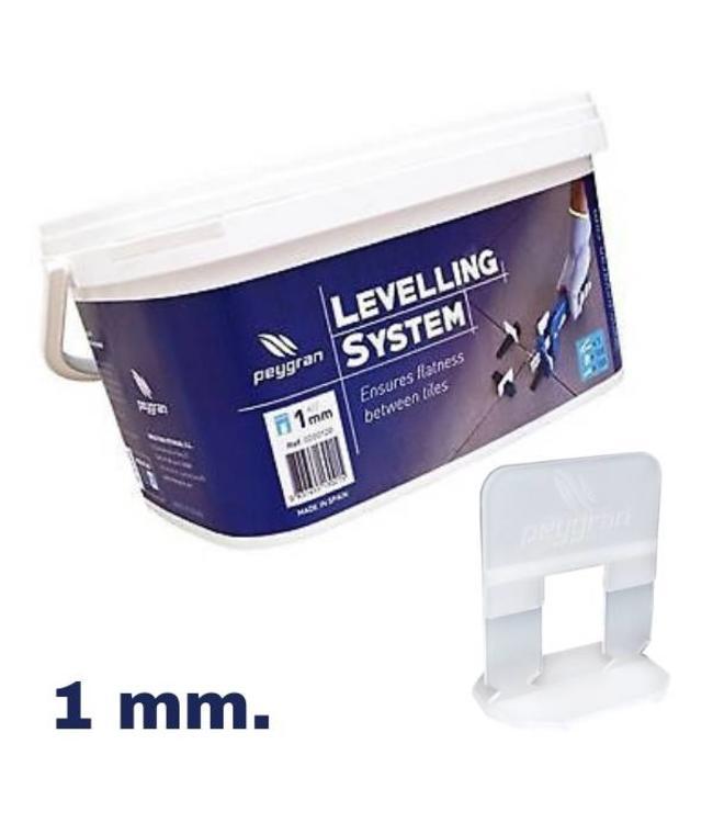 Peygran Levelling starters kit 1 mm. Peygran 100 set