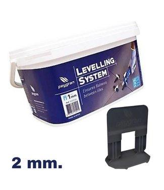 Peygran Levelling starters kit 2mm. Peygran 100 set