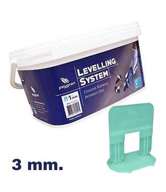 Peygran Levelling starters kit 3 mm. Peygran 100 set