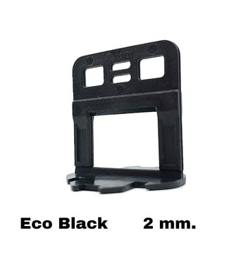 TegelFix Levelling clips  Eco Neon Green 2 mm. 500 st.