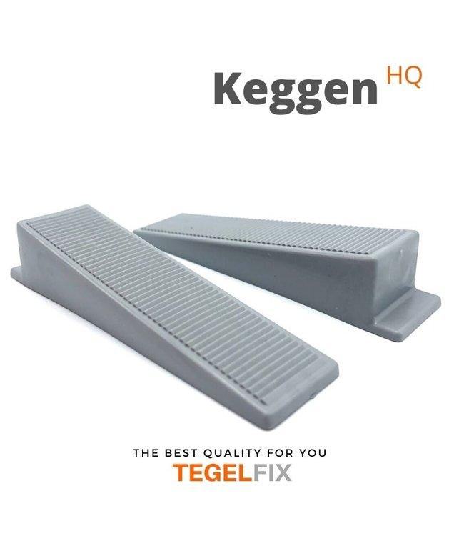 TegelFix Levelling Keggen Zwart 250 st.