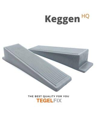 TegelFix Levelling Keggen Zwart 1000 st.