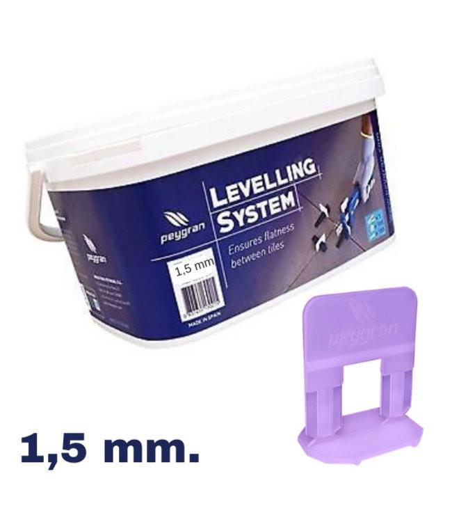 Peygran Peygran Levelling starters kit 100 set 0,5 mm.