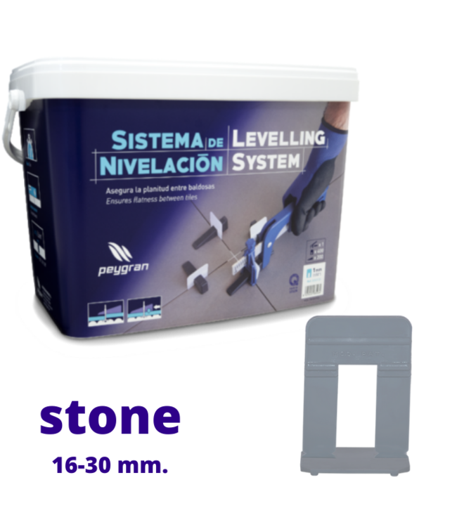 Peygran Starters 380 Set Stone Clips 16-30 mm.