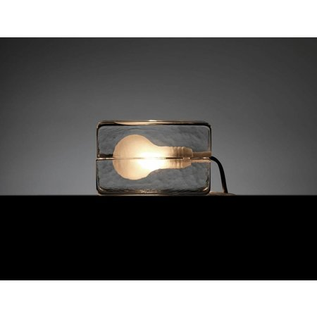 DESIGN HOUSE STOCKHOLM BLOCK LAMP CLEAR MINI