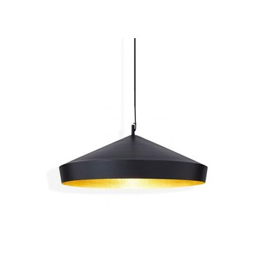 TOM DIXON BEAT FLAT PENDANT, BLACK