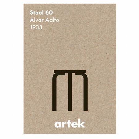 ARTEK POSTER ICON STOOL 60