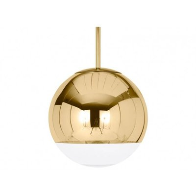 TOM DIXON MIRROR BALL GOLD HANGLAMP DIA 25