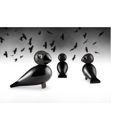 KAY BOJESEN SONGBIRD BLACK RAVEN