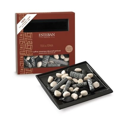 ESTEBAN TECK&TONKA SCENTED CERAMIC SET
