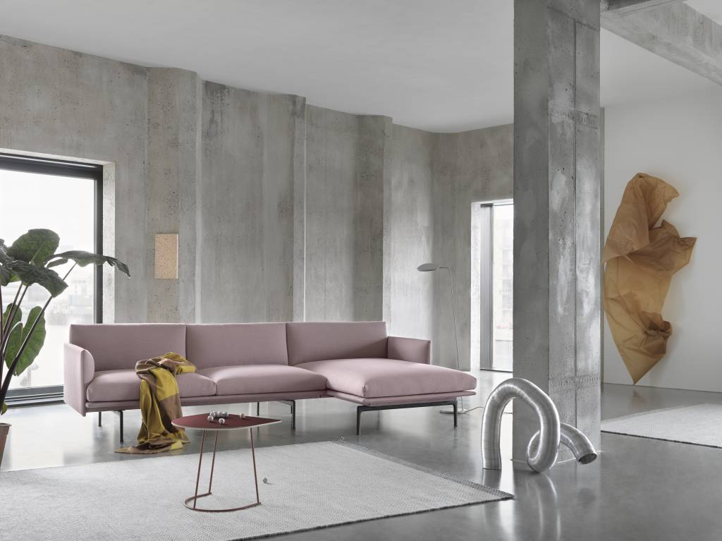 Design Bank Met Chaise Longue.Outline Bank Met Chaise Longue Nordic New