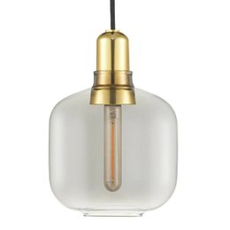 NORMANN COPENHAGEN AMP  LAMP SMALL MESSING