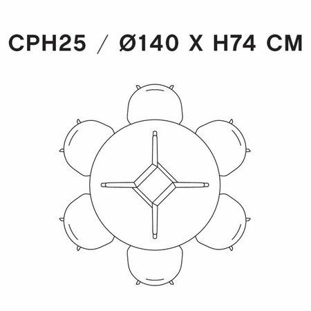 HAY CPH 25 TABLE ROUND