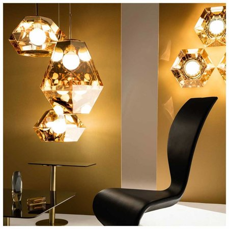 TOM DIXON CUT TALL PENDANT
